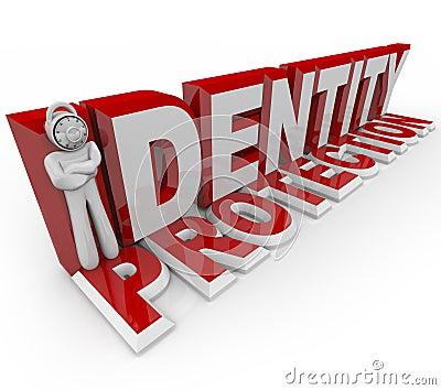 Identity Protection - Combination Lock Man