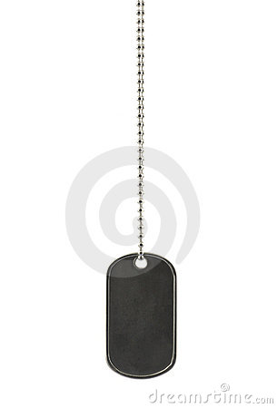 Identity tag with chain