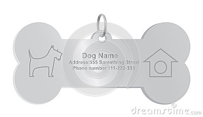 Identity tags for dog