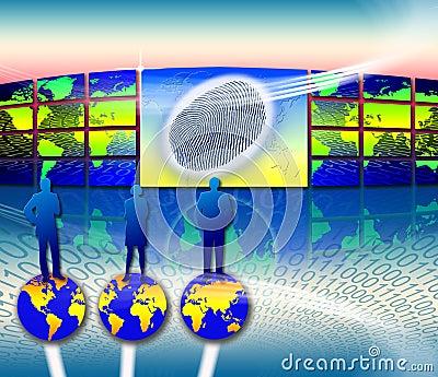 Identity theft biometric