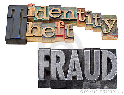 Identity theft and fraud in letterpress type