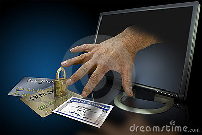 Identity theft on the web