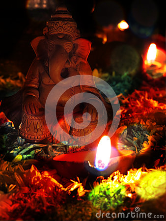 Lord Ganesh Editorial Stock Photo