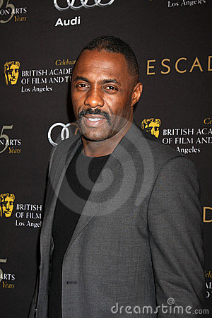 Idris Elba Editorial Image