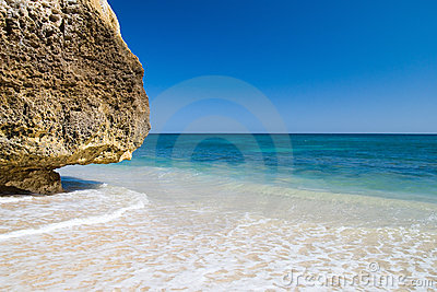 Idyllic Algarvian Beach