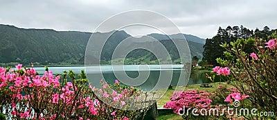 Idyllic Azores scenery