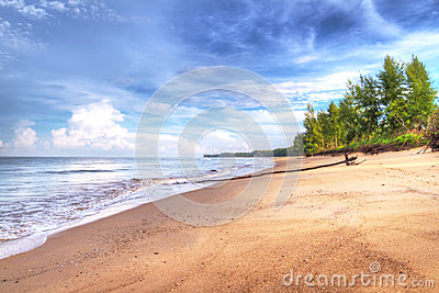 Idyllic beach of Andaman Sea in Koh Kho Khao