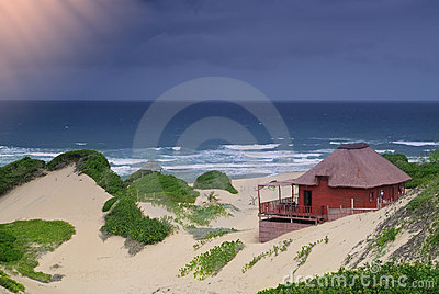 Idyllic beach cottage