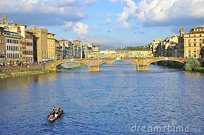 Idyllic city of Florence, Italy Editorial Stock Photo