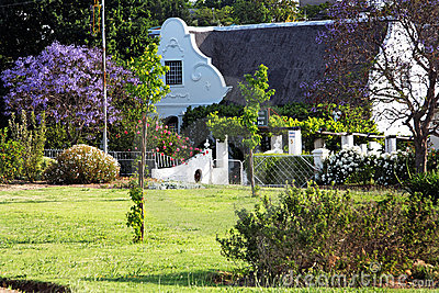 Idyllic country house with a garden