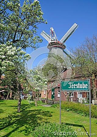 Idyllic eastern frisia,Germany