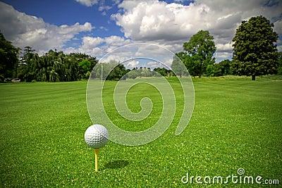 Idyllic golf club