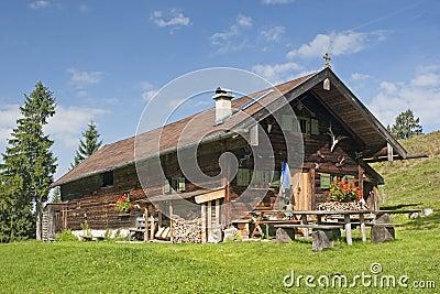 Idyllic hut