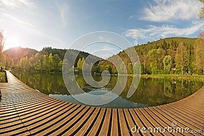 Idyllic pond