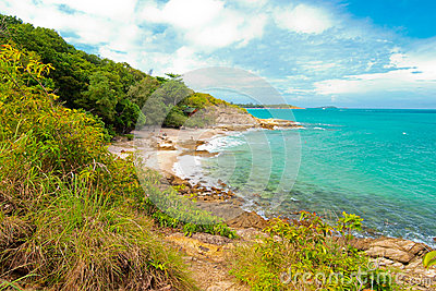 Idyllic Scene Beach