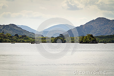 Idyllic scenery of Killarney lake