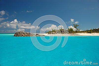 Idyllic small island