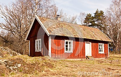 Idyllic Swedish house.