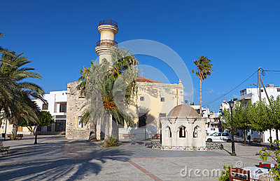 Ierapetra city at Crete island, Greece
