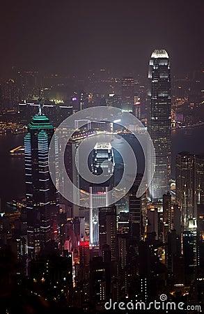 IFC Hongkong by Night