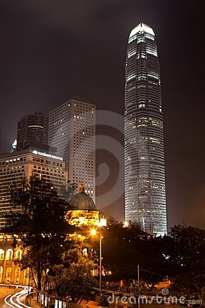 IFC Hongkong by Night