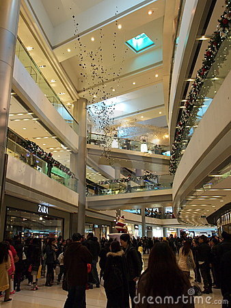 IFC Mall Editorial Stock Photo