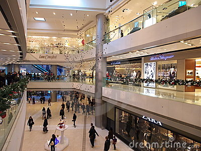 IFC Mall Editorial Image