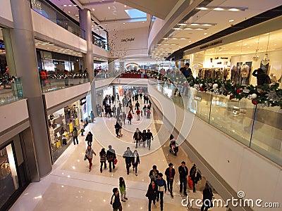 IFC Mall Editorial Stock Image