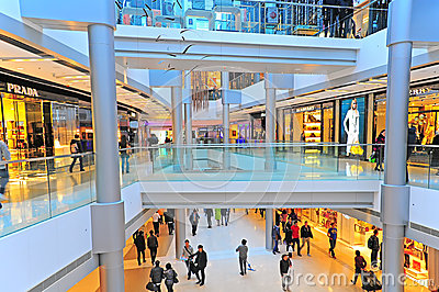 Ifc mall, hong kong Editorial Photography