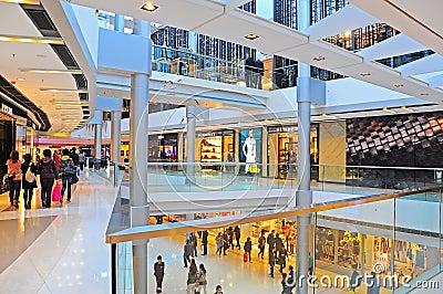 Ifc mall, hong kong Editorial Stock Photo