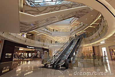 IFC Mall in Shanghai Editorial Photography