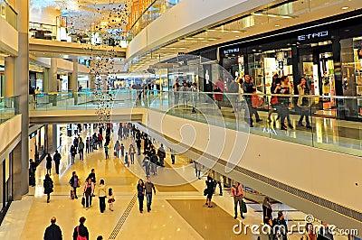 Ifc shopping mall, hong kong Editorial Stock Photo