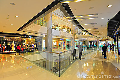 Ifc shopping mall, hong kong Editorial Stock Image