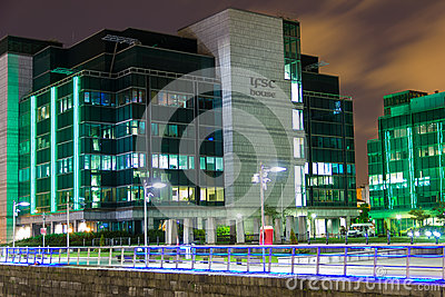 IFSC House - Dublin Editorial Image