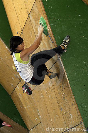 IFSC Worldcup Competition 2011 Editorial Photo