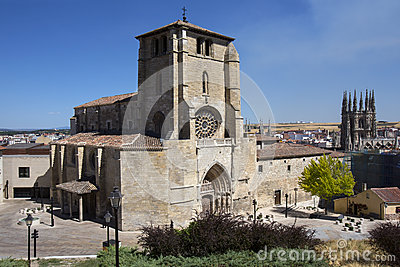 Iglesia dan Estaban - Burgos - Spain