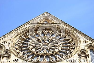 Iglesia de monasterio de York en Inglaterra
