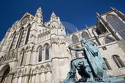 Iglesia de monasterio de York - York - Inglaterra