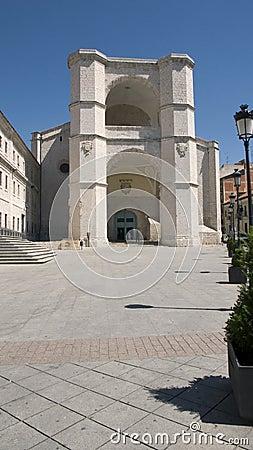 Iglesia de San Benito. Valladolid. Spain.