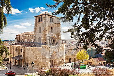 Iglesia De San Esteban in Burgos, Spain Editorial Stock Photo