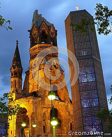 Iglesia del monumento de Kaiser Guillermo