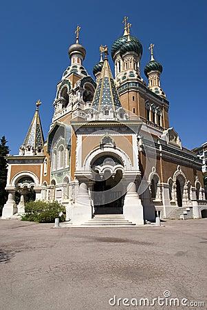 Iglesia rusa en Niza