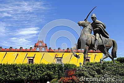 Ignacio allende statue I