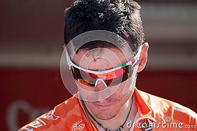 Igor Anton at Vuelta 2012 Editorial Stock Photo