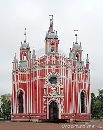 Igreja de Chesme. St Petersburg, Rússia.