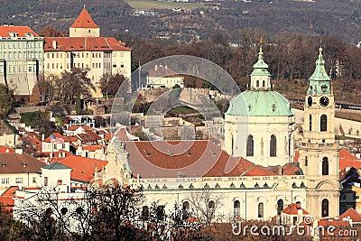Igreja de Nicholas de Saint - Praga