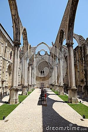 Igreja do Carmo church, Lisbon