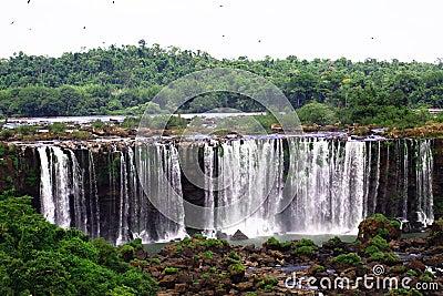 Iguassu (Iguazu; Igua�u) Falls - Large Waterfalls