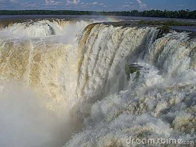 водопад iguazu