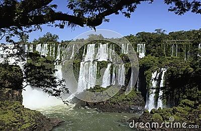 Iguazu Falls - Argentina / Brazil Border